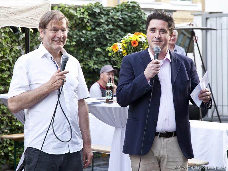 PD Dr. habil Gernot Barth und RA Bernhard Böhm laden zu den Steinbeis-Tagen ein
